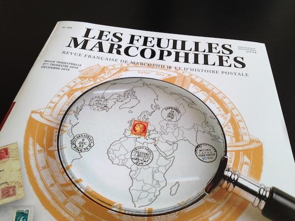 Les Feuilles Marcophiles… en retard !