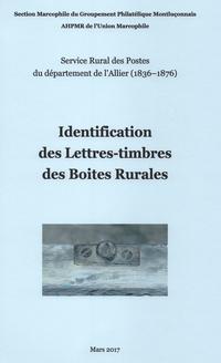 Identification des lettres-timbres rurales de l'Allier