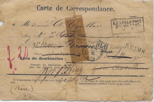 Reims – 1870 – par Gilles Fortin