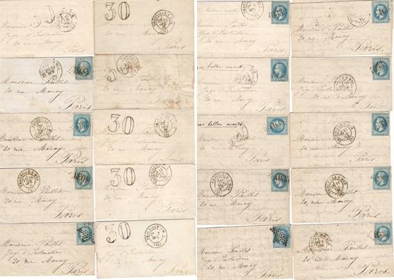 Les tentatives de Madame Paillet pour faire entrer du courrier pendant le siège de Paris par Jean-Marc Driguet