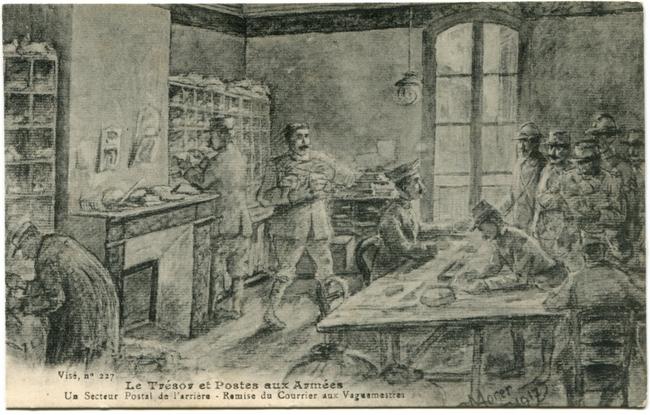 Carte postale – Première Guerre mondiale